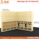 Het houten Kabinet van de Stap van het Kabinet van de Opslag van de Schooltas Peuter Houten