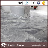 Mattonelle grige del granito molto Nizza della montagna cinese con le vene per la pavimentazione e la parete