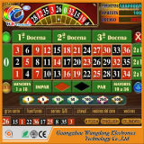 Máquina de jogo espanhola da roleta do casino com taxa elevada da vitória de 100%