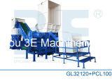 Desfibradora del metal/desfibradora plástica de la trituradora/del neumático de reciclar la máquina Gl32120