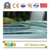 낮은 철 플로트 유리 낮은 철 Patterend 유리 매우 명확한 유리 높은 투과율
