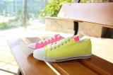 Женщин обувь кроссовки Canvas обувь с лета яркие цвета