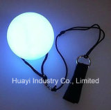 Iluminação Swinging LED Poi Balls com pulseira