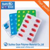 Film de PVC Rigide No-Toxic clair 0,25mm épaisseur de matériau de conditionnement pharmaceutique