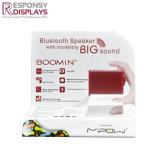 W300*D200*H310mm contre la preuve de l'eau acrylique blanc Affichage vitrine haut-parleur Bluetooth
