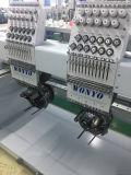 2 Head 12 cores/Roscas máquina de bordado de Alta Velocidade