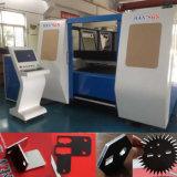 machine de découpage de laser de fibre de plaque d'acier du carbone de l'acier inoxydable 1000W à vendre