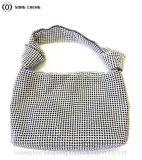 2020 Novo Diamantes, malha de alumínio Diamond sacos, senhoras elegantes malas de mão