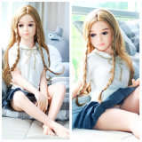 Mini bambola solida di amore del TPE con il seno piano per gli uomini