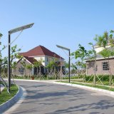 Control inalámbrico de 60W de luz de calle solar integrada