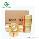 Band van de Verpakking BOPP van het Karton van China de Transparante Zelfklevende met Embleem