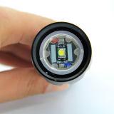 S2 10W 500lm Xml T6 High Power LED linterna recargable 18650 la mano de la luz de linterna G700