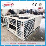 옥상 Panasonic/Daikin 압축기를 가진 공기에 의하여 냉각되는 포장된 중앙 에어 컨디셔너 단위
