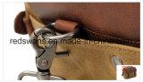 De in de was gezette Laptop van de Handtas van het Leer van de Zweep van het Canvas Waterdichte Zak van de Boodschapper (rs-16960)