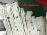 Fieltro con aguja Nonwoven PPS Bolsas de filtro de polvo