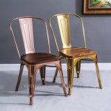Mobiliário antigo Cafe Gold cadeira de metal Jantar Tolix (SP-MC035W)