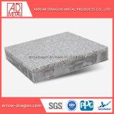 Placage de pierre de granit Anti-Mositure Non-Combustible aluminium panneaux de façade de l'architecture Honeycomb/ mur-rideau