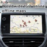 Android Market 6.0 Caixa de navegação GPS para Interface de Vídeo 2014-2018 Peugeot-2008/208/508/408 com Smeg+ com USB Mirrorlink APP...