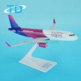 A320neo Wizz 18.8cm 선전용 소성 물질 비행기 모형
