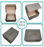 Progettare il contenitore per il cliente di imballaggio di carta di qualità superiore con la stagnola di oro