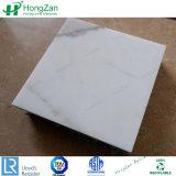 Pierre polie en marbre de couleur aluminium Panneau alvéolé