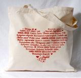 昇進の綿袋、キャンバスのショッピング・バッグ