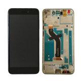 Affissione a cristalli liquidi astuta all'ingrosso del telefono del telefono mobile per lo schermo di tocco di Huawei P8 Lite 2017 Pra-La1 Pra-Lx1 Pra-Lx3