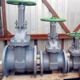 StandaardGOST 5762 van Rusland de Vastgeboute Bonnet Van een flens voorzien Py16 Py25 Py40 Py63 Klep Uit gegoten staal van de Poort