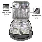 Isolée Boîte à lunch réutilisables fourre-tout sac du refroidisseur