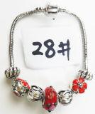 Armband Ref van de Charme DIY van vrouwen de Echte Zilveren Geplateerde Met de hand gemaakte: P 028