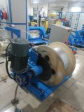 Un tornillo automático de Cable de fibra de bobinado de extrusión que hace la máquina