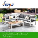 Casa moderna de metal Hotel Patio Polywood sofá de alumínio designs de conjunto de mobiliário de jardim exterior