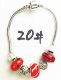 Armband Ref van de Charme DIY van vrouwen de Echte Zilveren Geplateerde Met de hand gemaakte: P 020