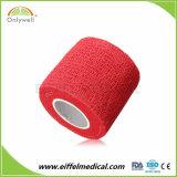 Fasciatura coesiva variopinta non tessuta elastica per gli sport atletici (approvazione della FDA & del CE)