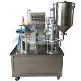 Il tipo rotativo macchina di riempimento di sigillamento della tazza del gelato di Calippo