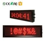 Segno di Scrolling LED del messaggio del regolatore LED di IR per l'automobile che fa pubblicità al portello Editable della visualizzazione di LED della visualizzazione di LED P7.62-1664 fuori