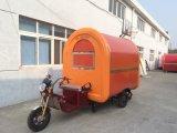 L'alimentation électrique orange camion / Véhicule de vente mobile