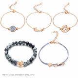 As mulheres de moda jóias de cordões de tartaruga pulseiras Charme