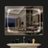 Decorativos de alta qualidade compõem o LED de vestir o espelho com luz para casa de banho no hotel