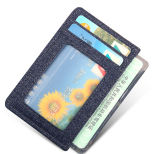2016 Moda Snow Fabric Mens Business Card Holder (BSWT16014)