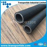 tubo flessibile di gomma idraulico di rinforzo di spirale del filo di acciaio 4sp/4sh