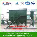 Se utilizan separadores de láminas en una planta de tratamiento de aguas residuales de papel