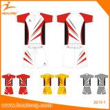 La aduana de Healong personalizó los uniformes del bádminton de la impresión 3D con desgaste del deporte de la alta calidad