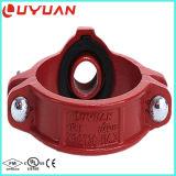 Montaje del tubo de ranurado en t de mecánica y la abrazadera con FM Aprobación UL
