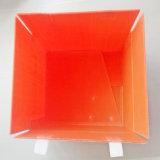 Caixa ondulada da placa dos PP do armazenamento plástico Foldable Recyclable com tampa
