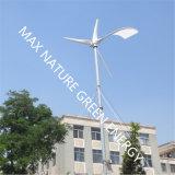 Generador de turbina de viento 5kw con el montaje de postes