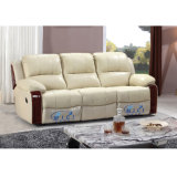 Hand Recliner Sofa Leather Sofa voor Woonkamer 6005m