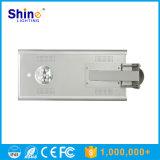 Réverbère extérieur solaire monocristallin du silicium 15W d'éclairage LED
