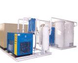 Planta gás-ar usada da separação do oxigênio/nitrogênio