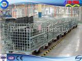 販売(FLM-K-011)のための頑丈な鋼線の網の容器